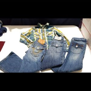 Boys True Religion size 5